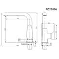 Смеситель для кухни (мойки) Nord Creek NC21066